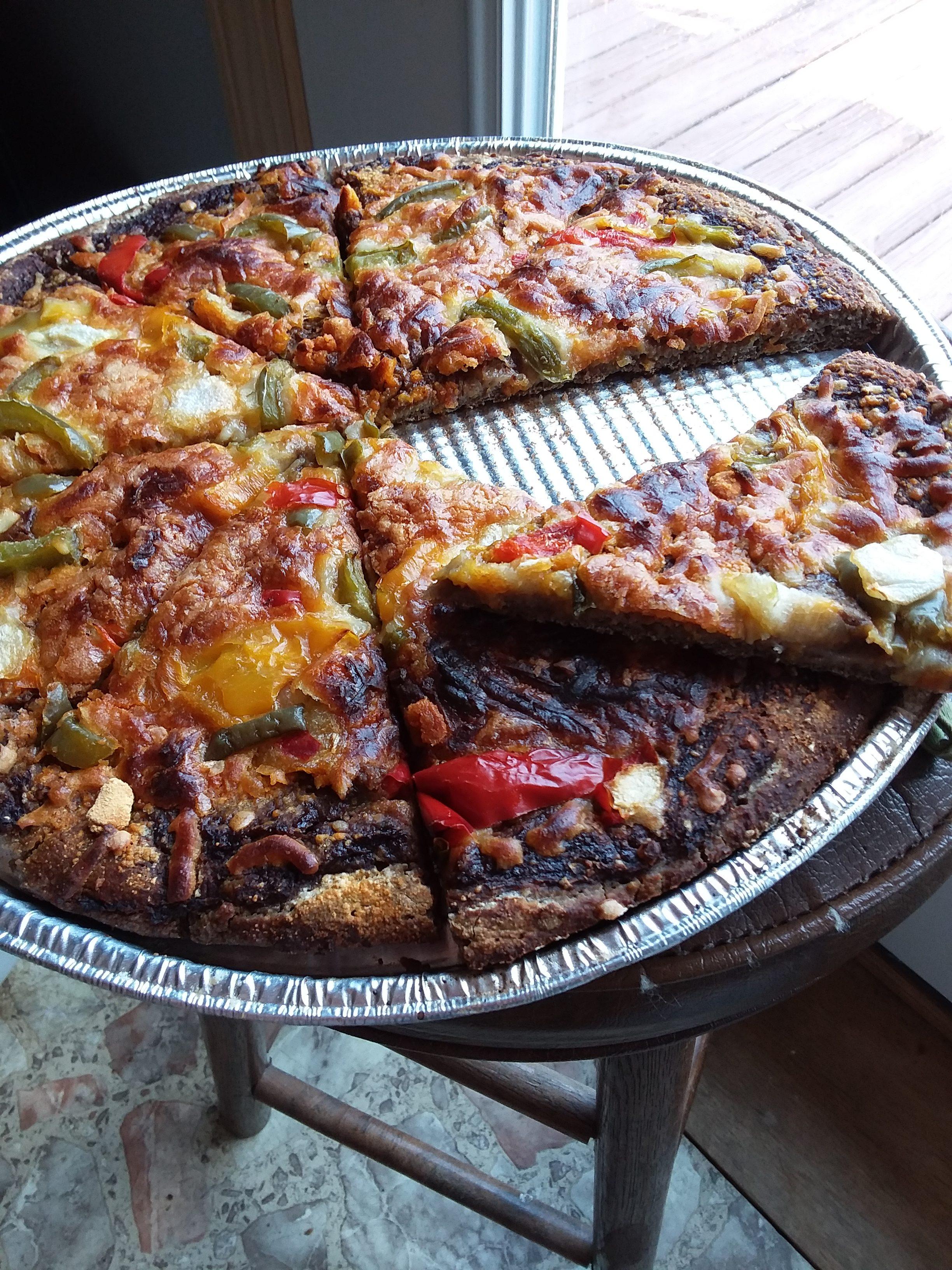 Pizzeria World Famous Quinoa (Modern Manna) Wild Pizza Recipe VERSION 2